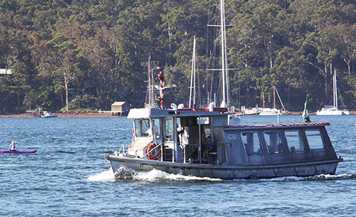 Church Point Ferry Service: the Amelia K