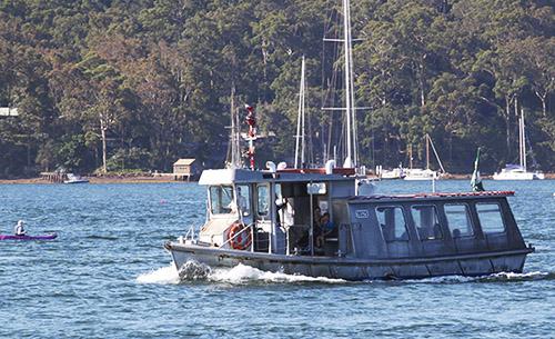 Church Point Ferry Service: the Amelia K