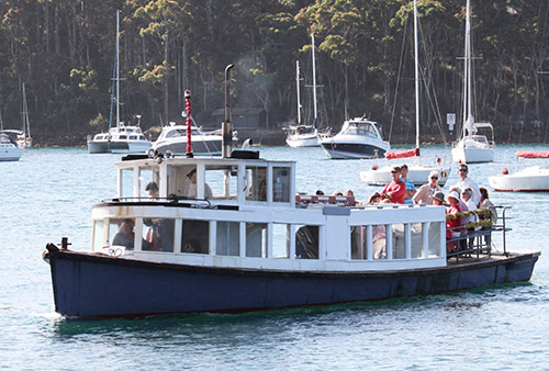 Church Point Ferry Service: the Curlew